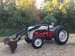 1951 Ford 8n Tractor With Loader