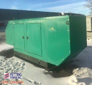 New 150kw Cummins Natural Gas Generator 150gfpa S n M15g303441