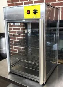 Wisco Oojj925 Bakery Restaurant Glass Food Warming Merchandiser Display Case