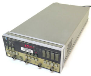 Hewlett Packard Hp 8116a 50 Mhz Pulse Function Generator