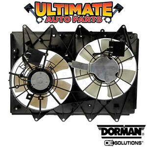 Radiator Cooling Fan With Controller For 10 14 Mazda Cx 9 Heavy Duty Cooling