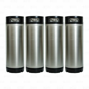 5 Gallon Ball Lock Corny Kegs For Home Brewing Beer Coffee Soda Set Of 4