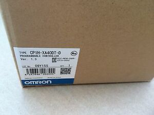 New In Box Omron Plc Cp1h xa40dt d Cp1hxa40dt d Quantity Available In Stock