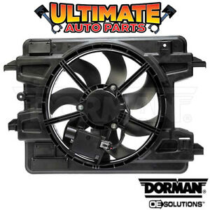Radiator Cooling Fan 2 0l Turbo W Controller For 08 10 Chevy Hhr