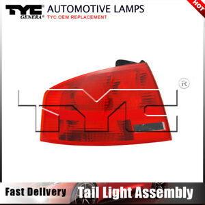 Tyc Tail Light Lamp Assembly Left Outer 1pc For Audi A4 Sedan 2005 2008