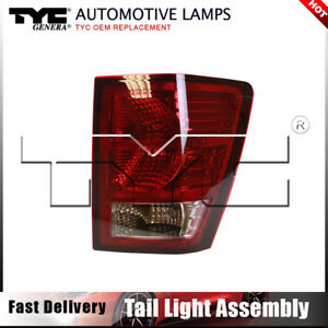 Tyc Tail Light Lamp Assembly Right 1pc For Jeep Grand Cherokee 2007 2008