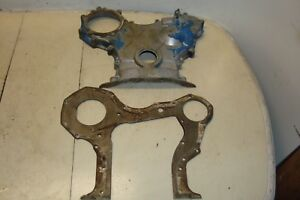 Ford 2110 Lcg Gas Tractor Front Engine Timing Cover Plate 2000