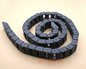 3pcs 1000mm Cable Drag Chain Wire Carrier 10 20mm R28 Good Quality capt2011