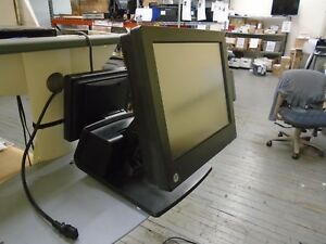 Hp Rp7 Retail System Model 7800 Pos Touch Screen Terminal I3 4gb