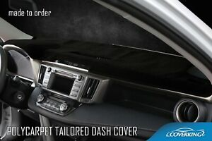 Coverking Poly Carpet Custom Tailored Dash Cover Mat For Ford Mustang