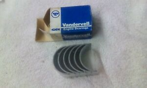 Nos Vandervell Main Bearings For Mga 1588cc 1622cc Engines Vp817 030 59 62