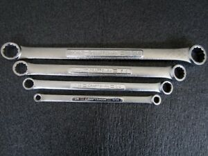 Classic Craftsman Vv series Sae Double Box End Wrench Set 4pc Made In Usa
