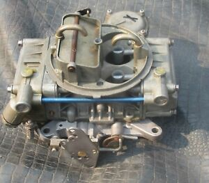 Holley Ford Marine 9392 Omc Volvo 4 Barrel 4160 Vacuum Secondary Carburetor Carb