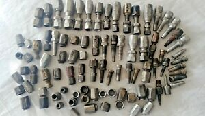 Hydraulic Fittings Assorted Sizes 7 Pound Lot