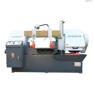 Toolots Semi automatic 4hp 13 28 Double column Horizontal Band Saw