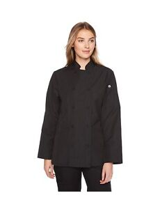 Chef Works Women s Carlisle Executive Chef Coat Pinstripe X small