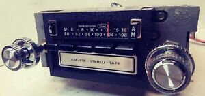 1970 s Ford Am fm 8 Track Radio D7af19a168 serviced Bluetooth Youtube Video