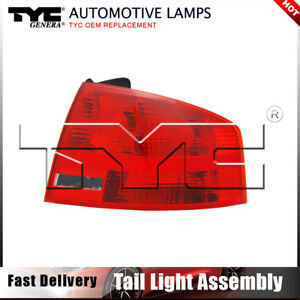 Tyc Tail Light Lamp Assembly Right Outer 1pc For Audi A4 Quattro Sedan 2005 2008
