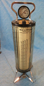 Vintage Robinair Dial a charge Freon Charging Cylinder R12 R22 R114 R500