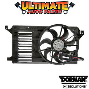 Radiator Cooling Fan 2 0l Or 2 5l W Controller For 10 13 Mazda 3 Or 3 Sport