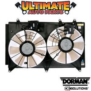 Radiator Cooling Fan 2 3l Turbo W Controller For 10 12 Mazda Cx 7