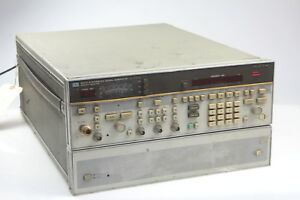 Hp 8673c Synthesized Signal Generator 05 To 18 6ghz