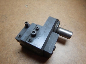 Older Hardinge T4 5 8 Turret Lathe Tool Holder Offset Head Machinist Tool