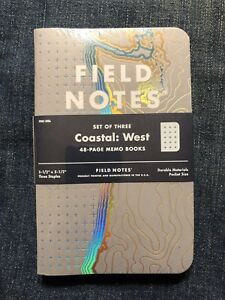 Field Notes East And West Coastal Edition Sold Out