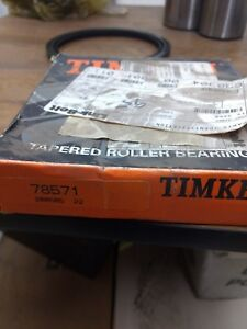 Timken 78571 Tapered Roller Bearing