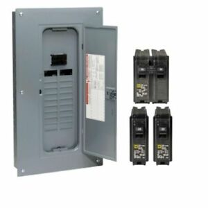 Main Breaker Plug on Neutral Load Center W Cover 100a 20space 40circuit Indoor
