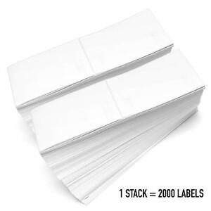 Fanfold 4 x6 Direct Thermal Shipping Perforated Adhesive Labels Zebra 2844 Ups