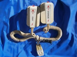 Zoll Patient Monitor Corded Hard Metal Paddles Apex Sternum