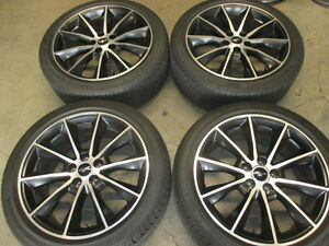 Four Used 2015 Ford Mustang Factory 19 Wheels Tires Rims Oem 10032 Pirelli