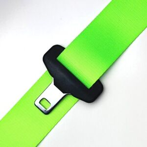 Neon Lime Green Seat Belt Color Webbing Replacement