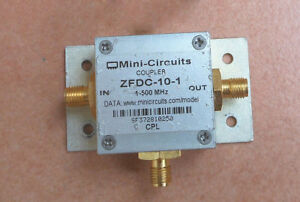 Mini circuits Zfdc 10 1 1 500 Mhz 10db Rf Coaxial Coupler