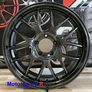 Xxr 530d 18 X 9 35 Chromium Black Deep Dish Lip Hyper Wheels Rims 5x112 Audi A6