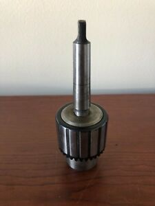 Jacobs Style Precision Ball Bearing Keyed Drill Chuck With Mt2 Arbor 5 8