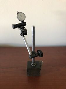 Machinist Dial Test Indicator 0005 With Magnetic Base Nice