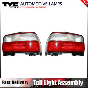 Tyc Tail Light Lamp Assembly Left Right 2pcs For Toyota Corolla 1996 1997