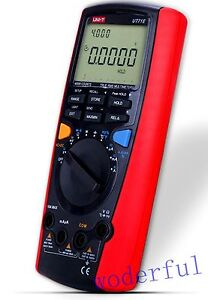 Uni t Ut71e Digital Multimeter Tester Usb Auto Data Log Ac Dc True Rms