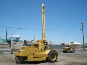 Federal 10 K Rough Terrain Crane Rebuilt Eng Starts And Works Fine