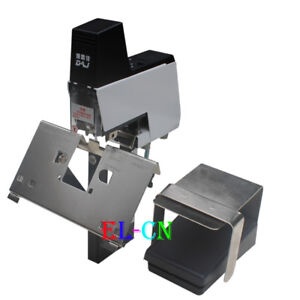 Electric Saddle Stapler Bookbinding Machine Riding Binding Stitcher Book Sewer