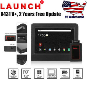 Launch X431 V Obd2 Auto Diagnostic Scanner Key Programming Tool Global Version