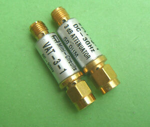 Mini circuits 3db 3g Fixed Attenuator Vat 3 1 capt2011