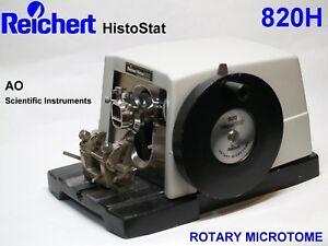 reichert 820h Histostat Microtome With Blade Holder