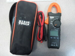 Klein Tools Cl110 Digital Clamp Meter Rt210 Gfci Receptacle Tester Excellent