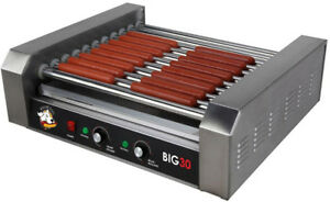 12 Hot Dog Electric Sausage Brat Bratwurst Indoor Grill Cooker Non Stick Griller