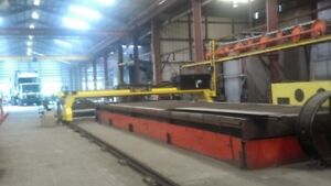 Used 18 x40 Cnc Plasma Cutter Table Esab Avenger W t 2 200 Amp Power Sources