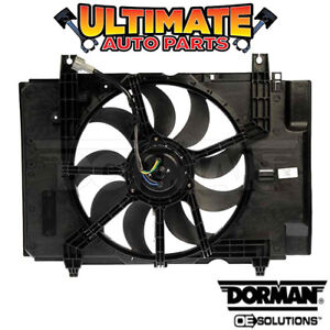 Radiator Cooling Fan With Controller 1 8l With A c For 09 10 Nissan Cube