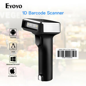 Handheld Portable 2 In 1 Wired wireless Bluetooth Barcode Scanner Fr Android Ios